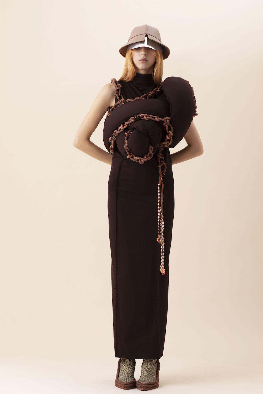 BA (Hons) Fashion Textiles Embroidery graduate Mia Anderson for LCFBA18.