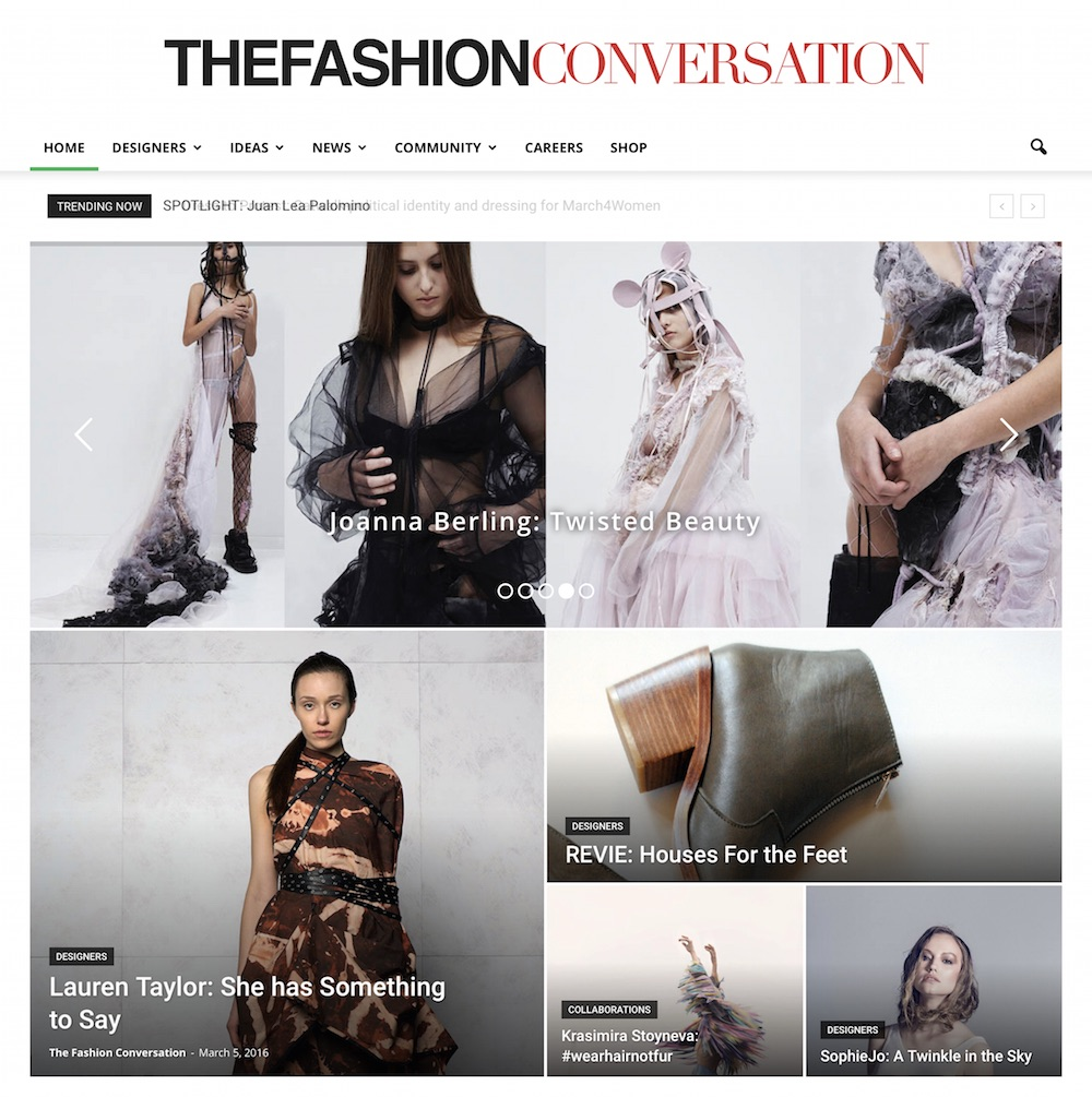 Kate Teppett, Editor & Founder,The Fashion Conversation.