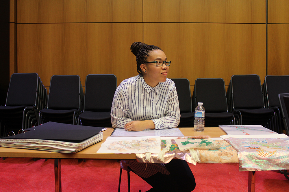 The CAPS team came to LCF last week to present a series of workshops designed to encourage students from diverse background to find their perfect degree in fashion.