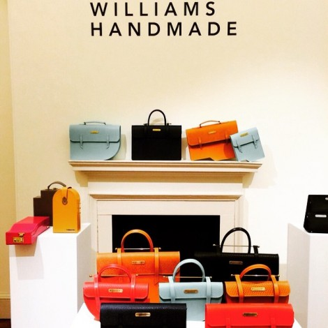 Bespoke bags from our LCF College Alum @williamshandmade