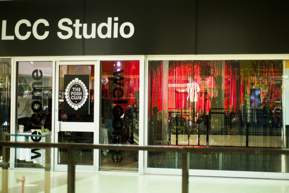 Posh Club in LCC Studio.