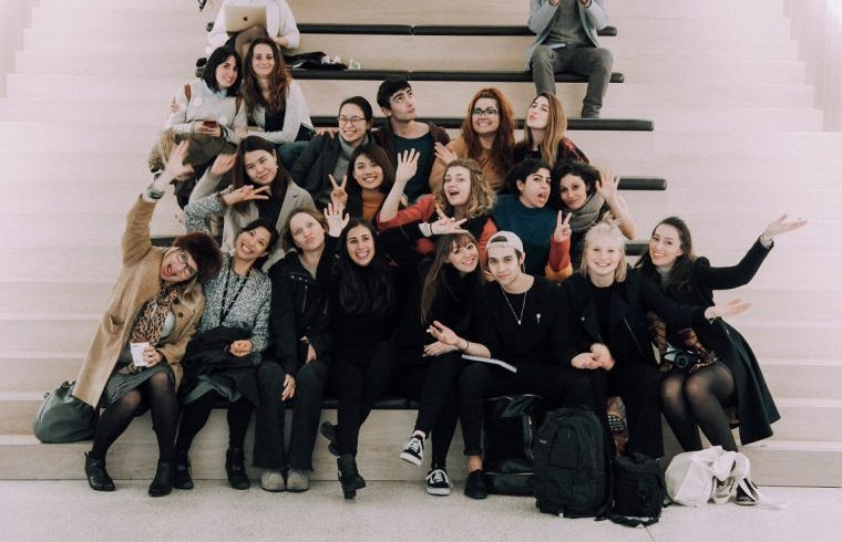 BA (Hons) Design Management and Cultures students at the Design Museum