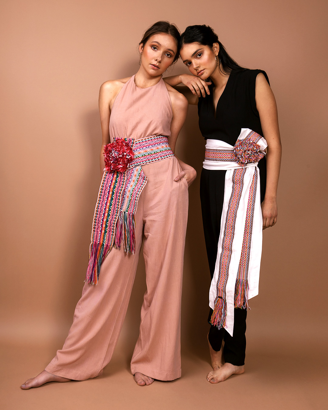 A photo of two models wearing items of clothing sold by TAARACH®