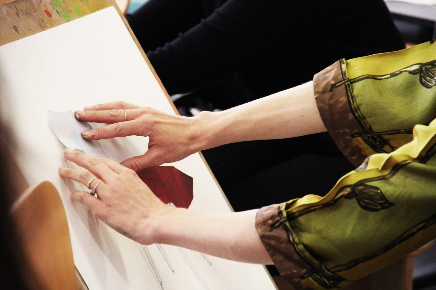 Experimental Fashion Drawing