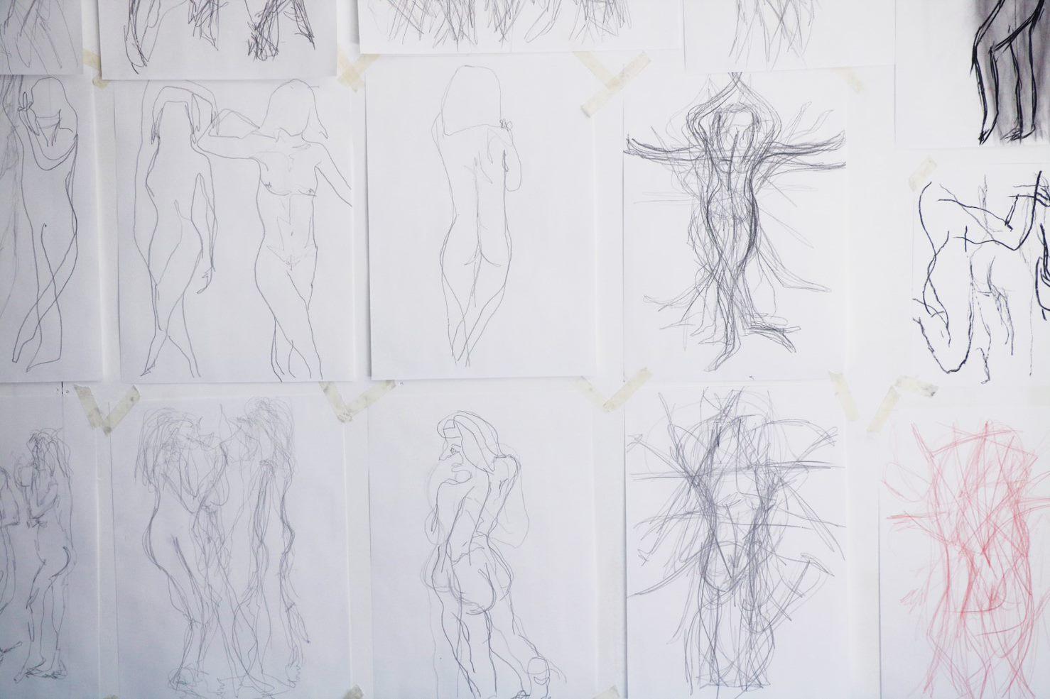 Drawing Portfolio - Daytime