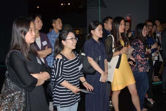 Guests at UAL Beijing Alumni Reception 2015