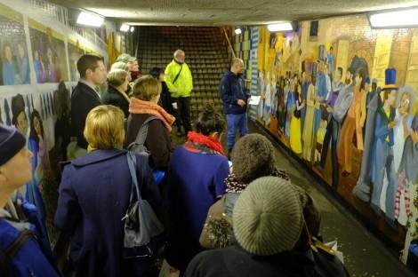 Bratby murals tour