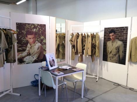 Manish Bansal, alumnus MA Fashion Design Technology: Menswear, at Pitti Immagine Uomo 2013