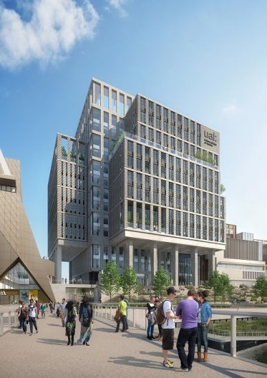 Ual S New London College Of Fashion Plans Unveiled By The Mayor Of London Ual