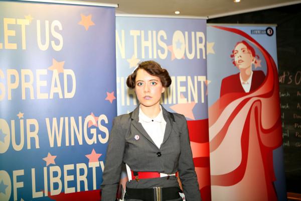 Rosa Nussbaum, Rosa for America, 2014