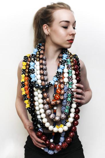 Image from BA (Hons) Fashion Jewellery student Vidhi Chandiramani's final collection
