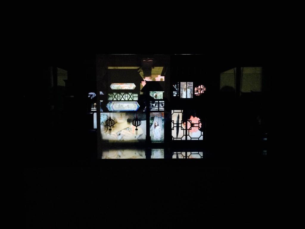 Digital installation work by Huijun Guan, MA Fine Art Digital