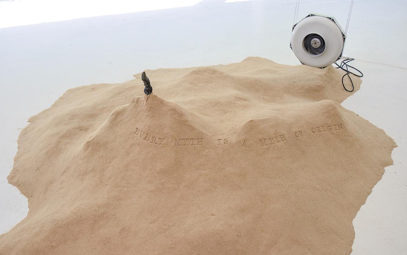 'The Amnesia of Sand', Ouyang Yangyi, 2016