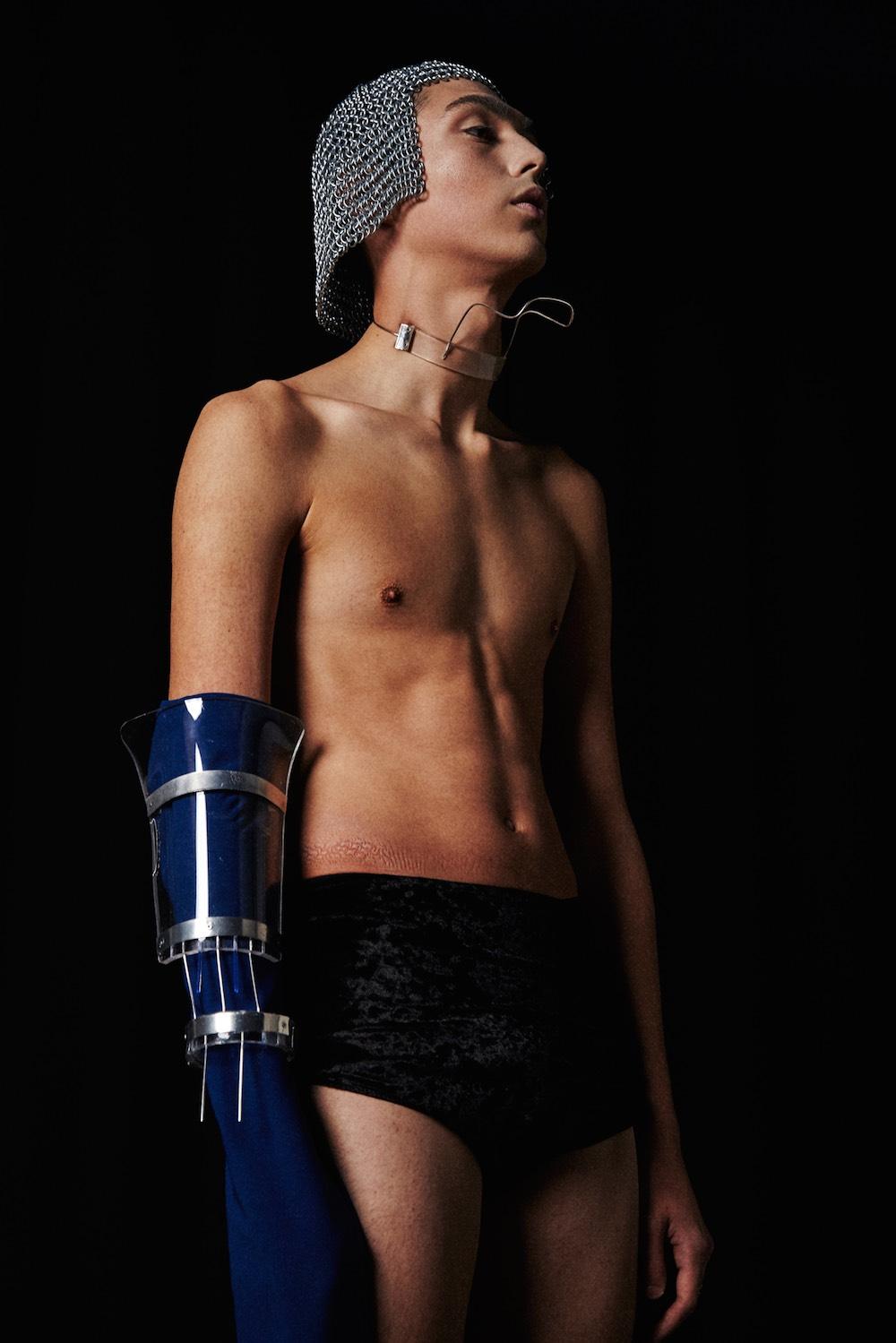 MA Fashion Photography graduate Sampson Wu.