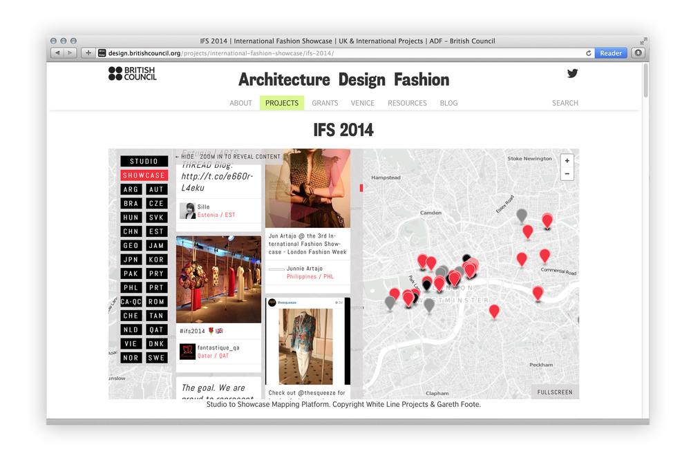 Studio to Showcase' International Fashion Showcase 2014