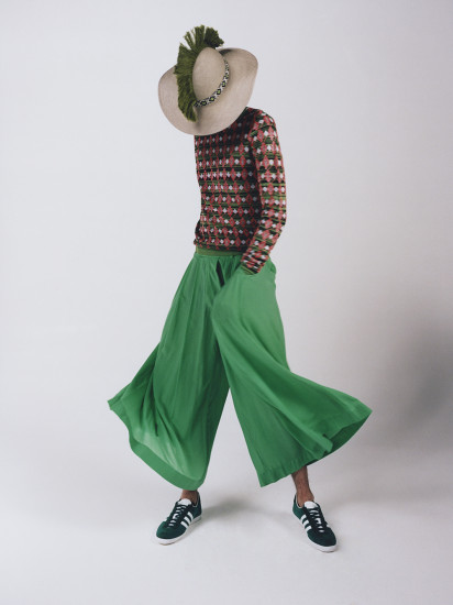 Image from Ma Menswear student Jasmine Haoyao Deng's final collection. Photographer: Felix Cooper