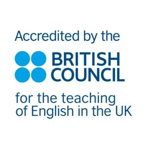 British Council teaching English in the UK accreditation logo