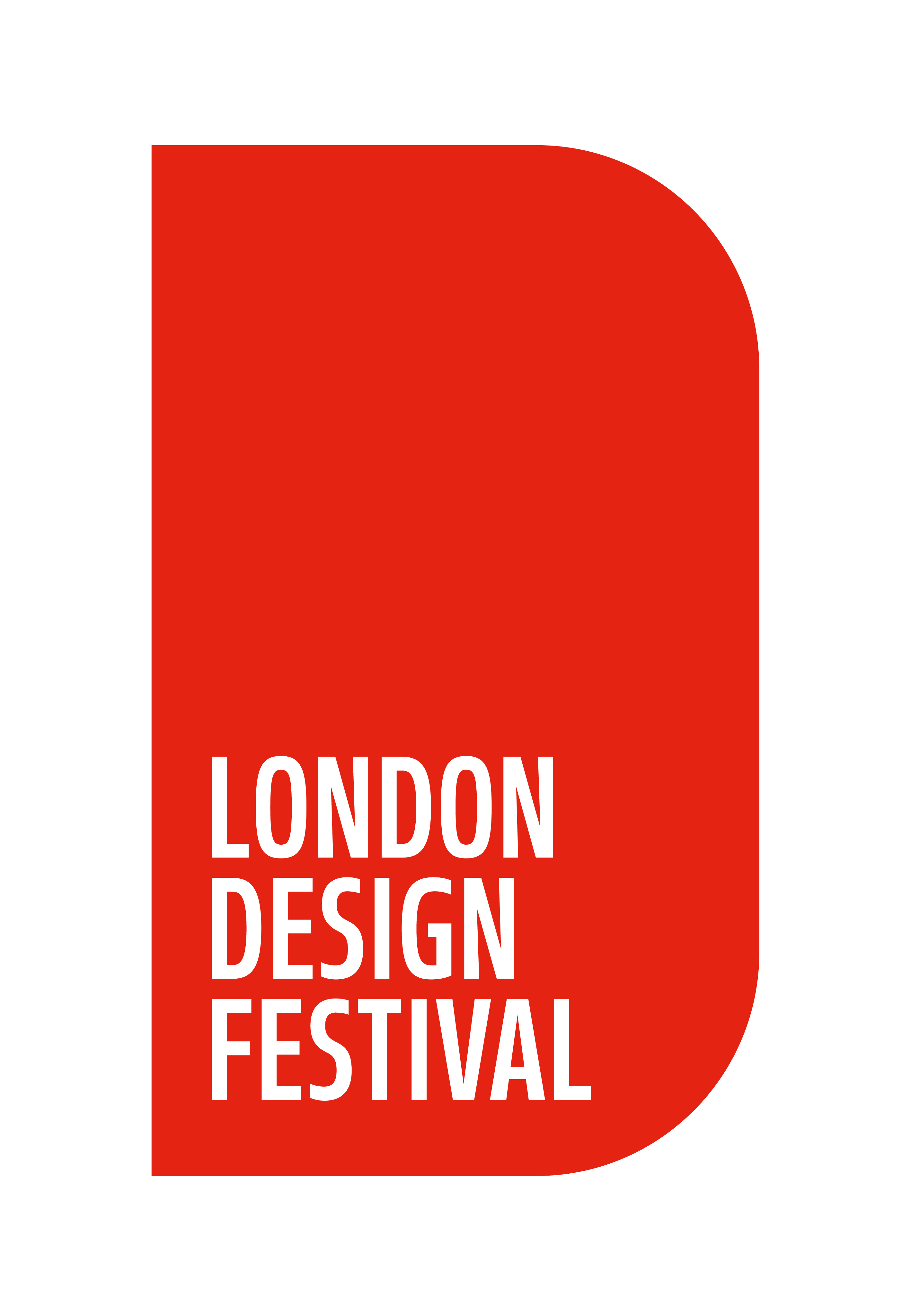 London Design Festival logo in red