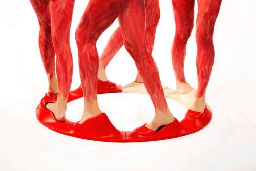 Jo Cope's work, Walking in Circles