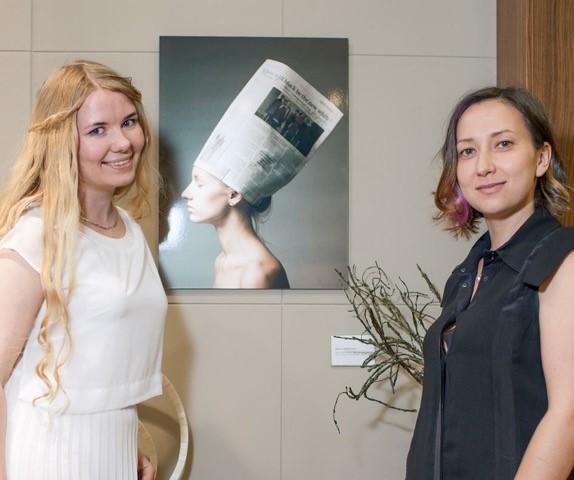 Alumni Marina Makeeva and Zhanna Bobrakov