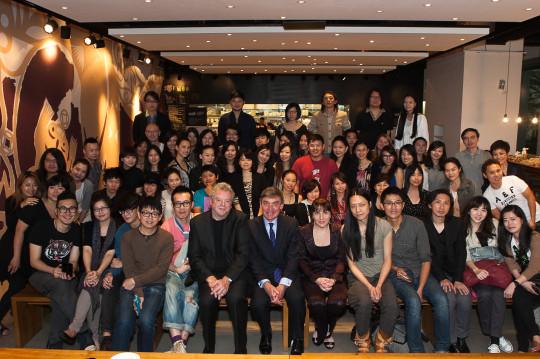 UAL senior staff joined alumni in Taiwan in 2012