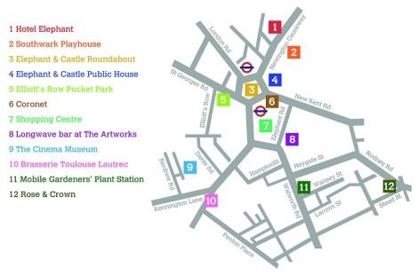 venues map