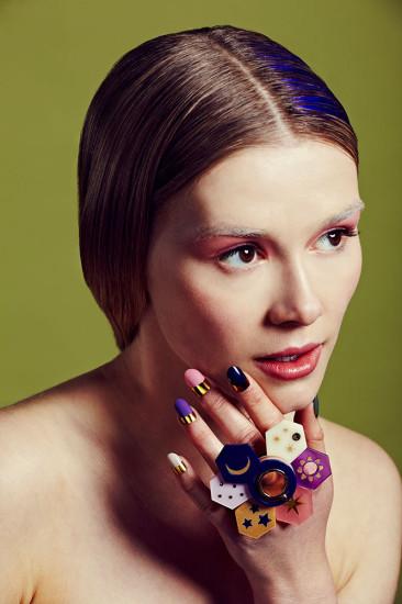 Alexandra Druzhinin, BA (Hons) Fashion Jewellery.