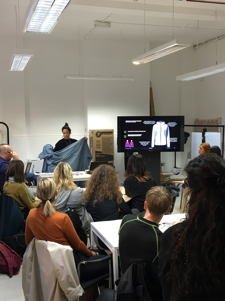 Students at the fashion tech hackathon. Photo courtesy of UAL