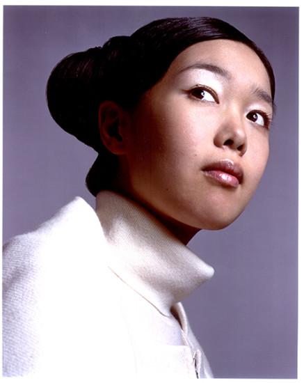 Mariko Mori, shot by David Sims