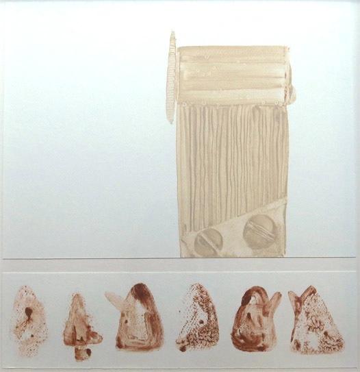 Annette Robinson, 'Musical Box 2'. Partner drawing to work featured in Jerwood Drawing Prize 2015