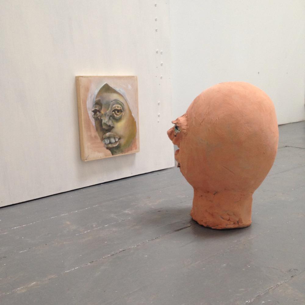Agnes staring back at herself by Nikoleta Martjanova