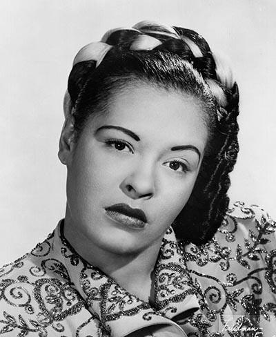 Studio Portrait of Billie Holiday, 1948
