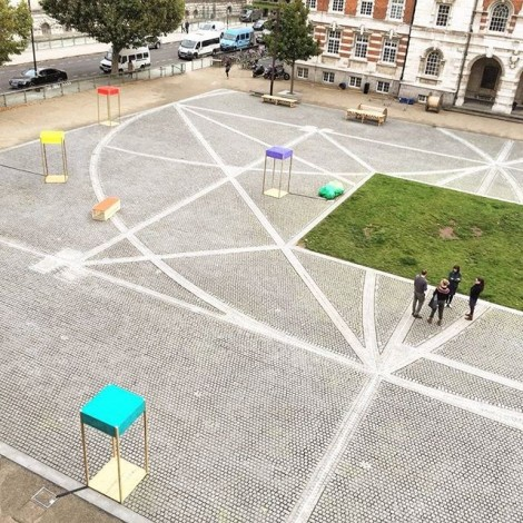'Alternative Path' exhibition in the Chelsea Parade Ground by Anta Germane