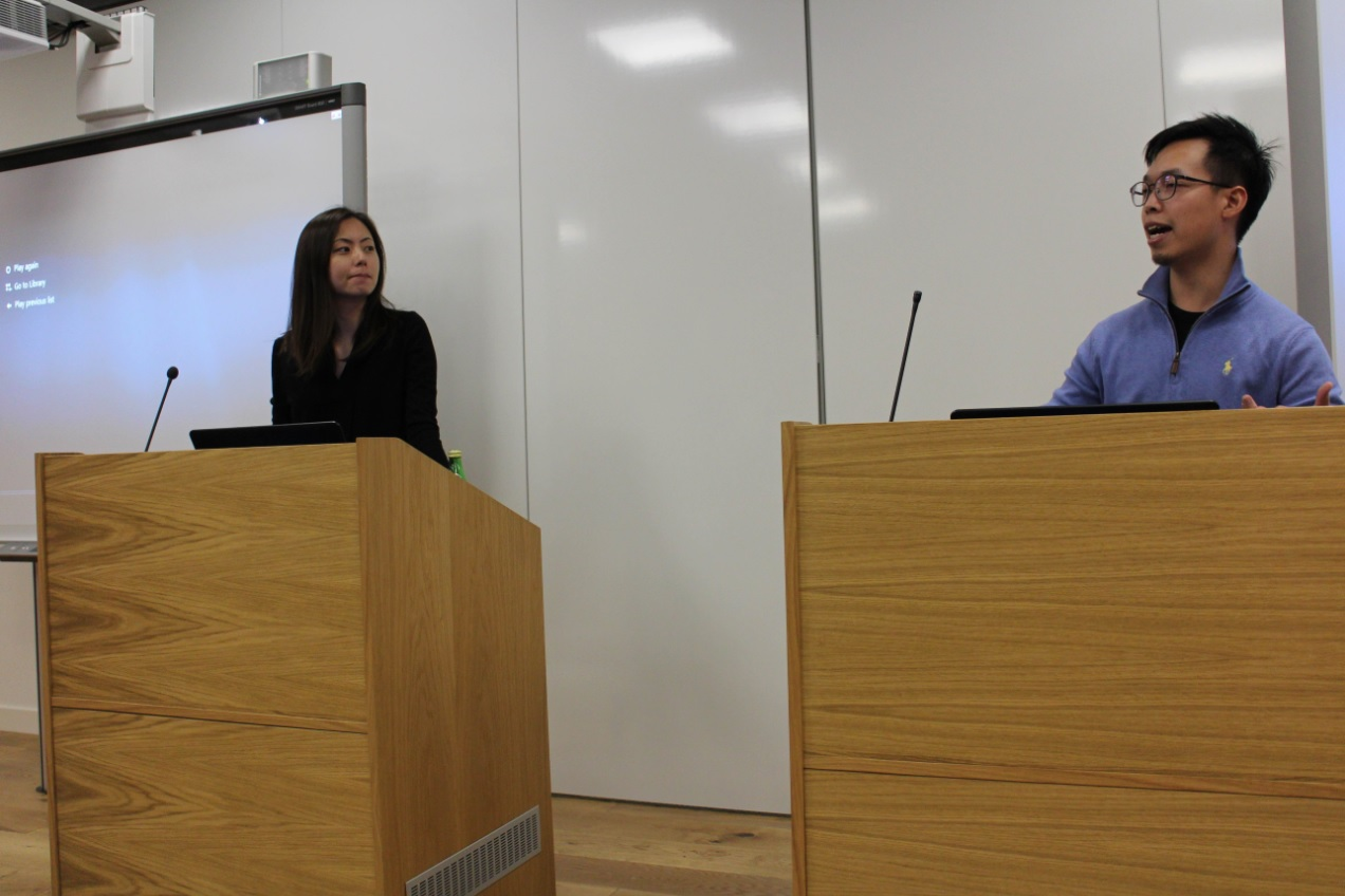 Chun-yu Liu presents at the International History of East Asia Seminar at the University of Oxford