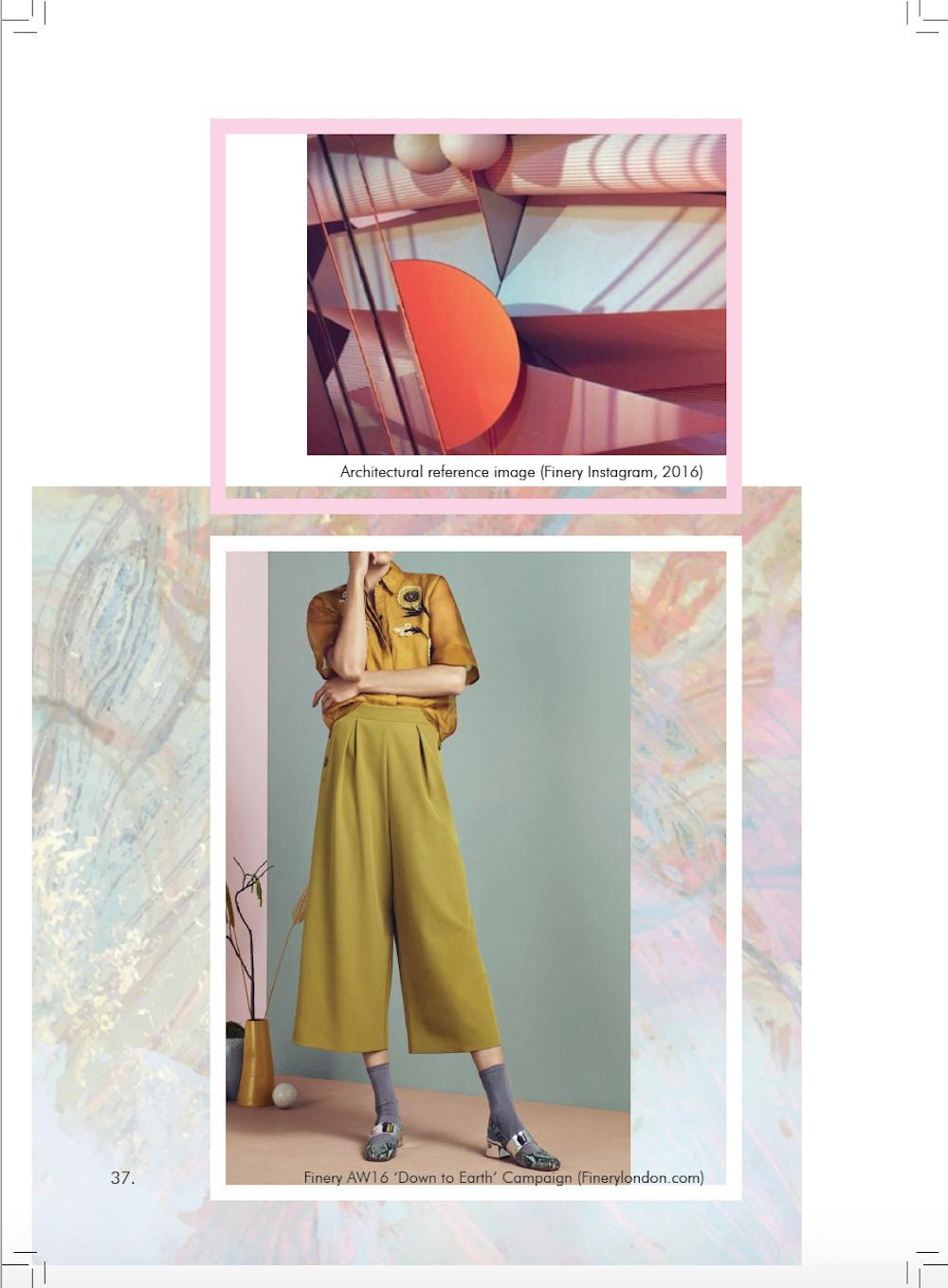 Abigail Butler, BA (Hons) Creative Direction for Fashion, 'Art School' 2015.