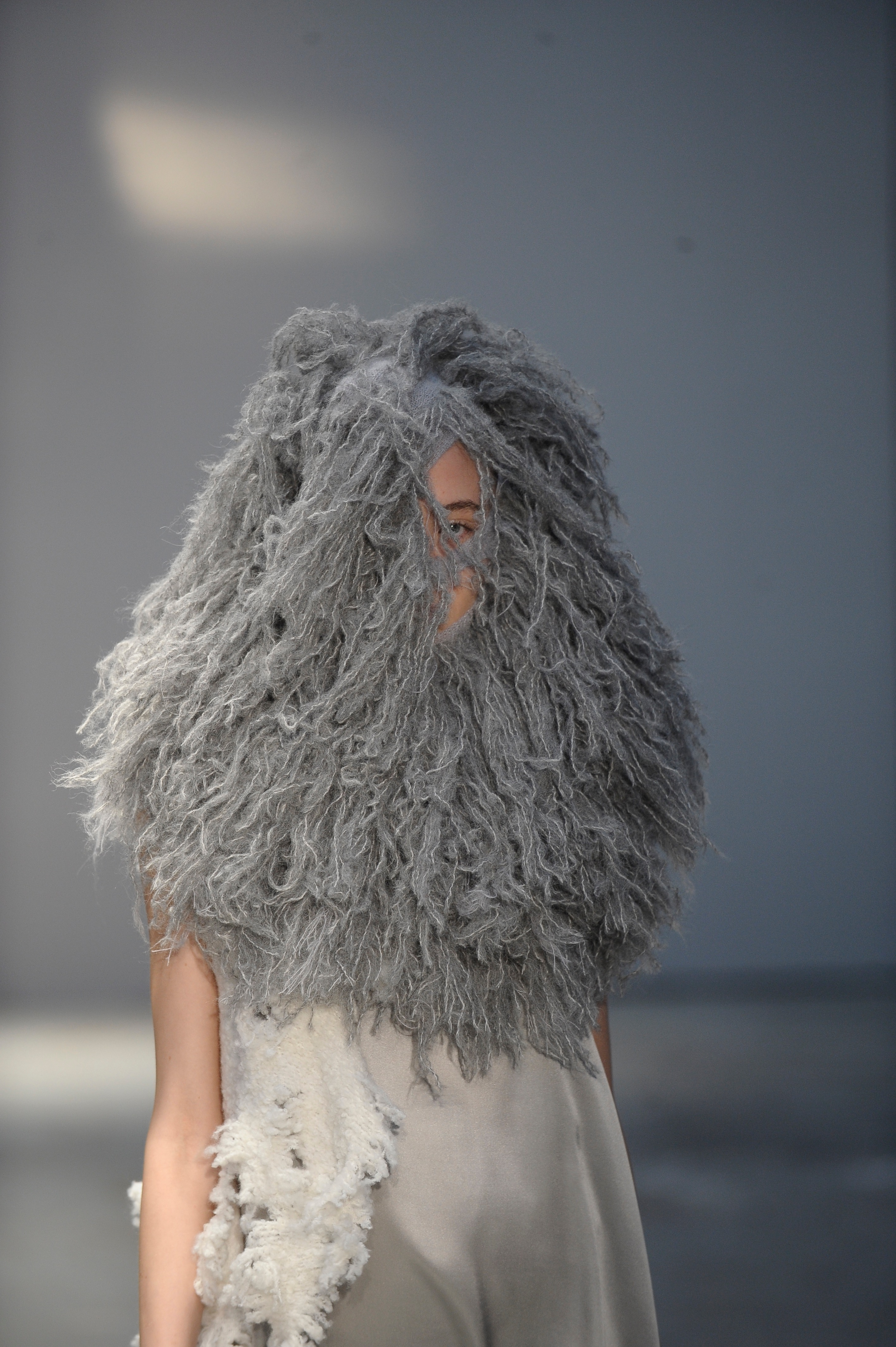 Olga Tytarenko, BA (Hons) Fashion Design Technology: Womenswear; Emily-Louise Coveney, BA (Hons) Fashion Textiles: Knit andNina De Marco, BA (Hons) Fashion Jewellery. Photographer: Roger Dean