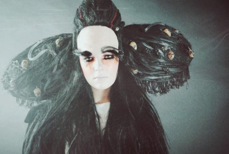 Work by Kamilia Harchi, BA (Hons) Hair and Make-up for Film and TV