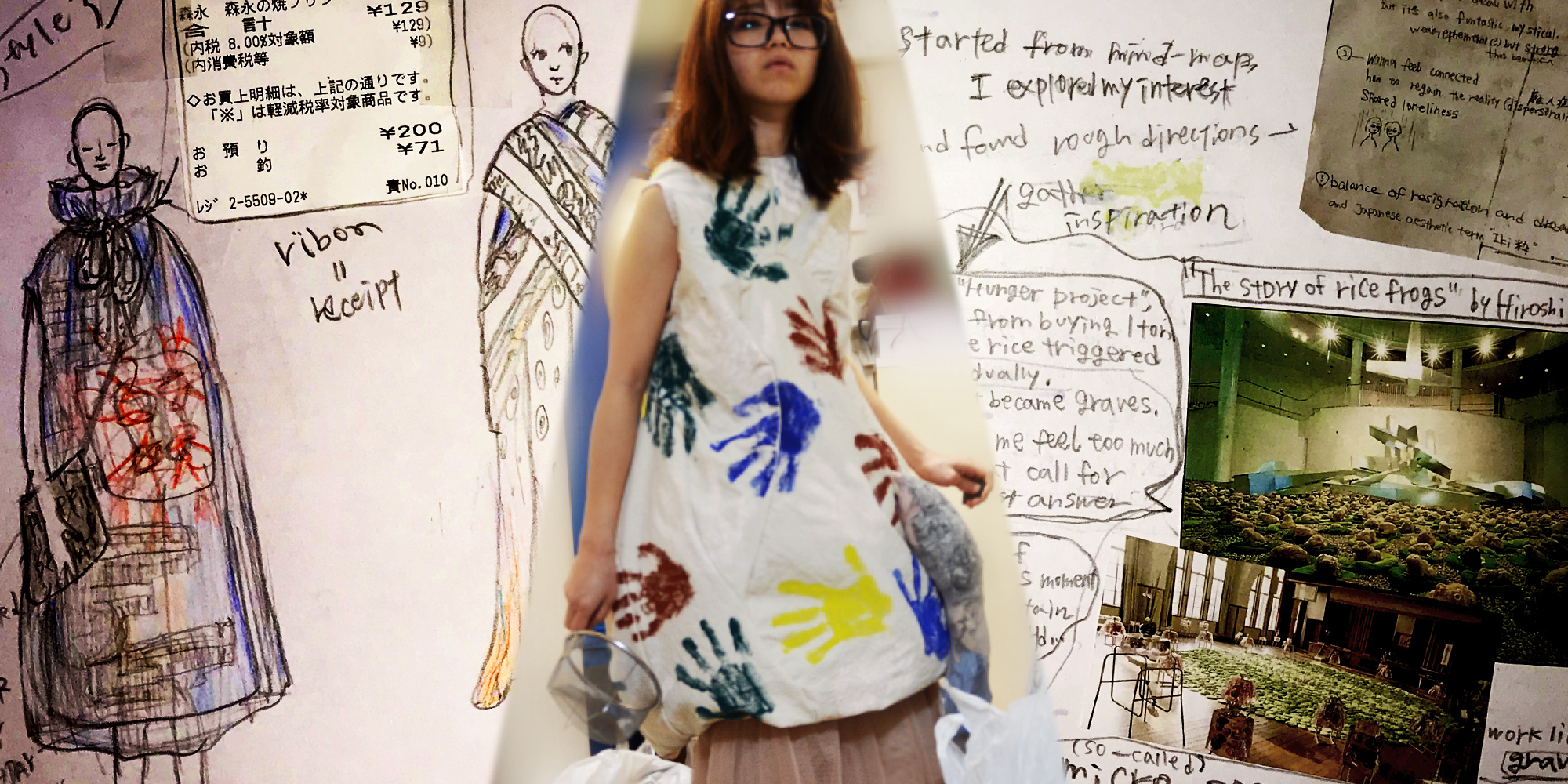 Student insights on Experimental Fashion Design short course   UAL