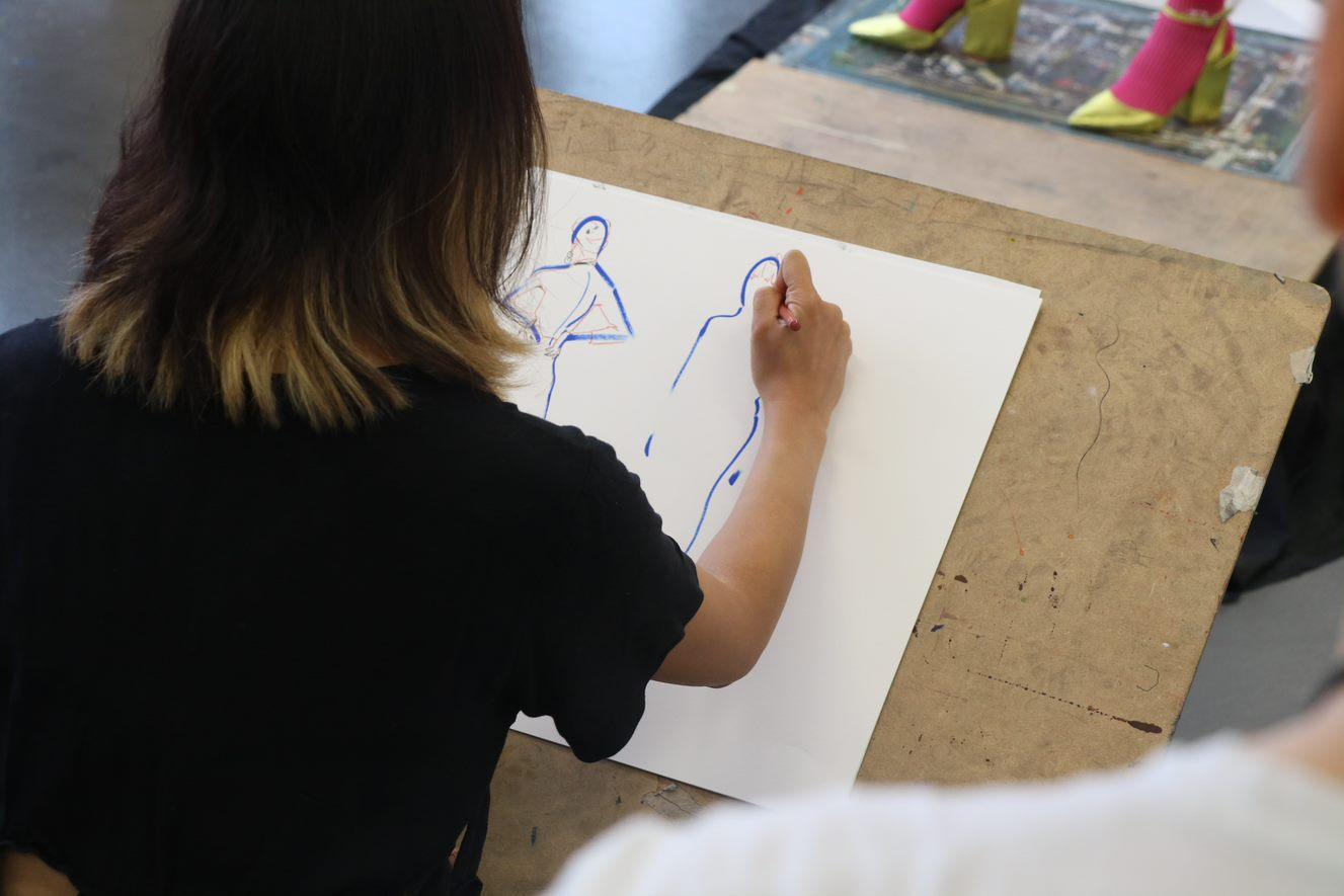 Fashion Drawing Summer School