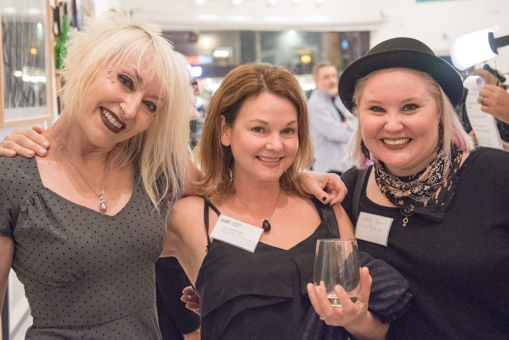 Angie Stimson and fellow LA based alumni