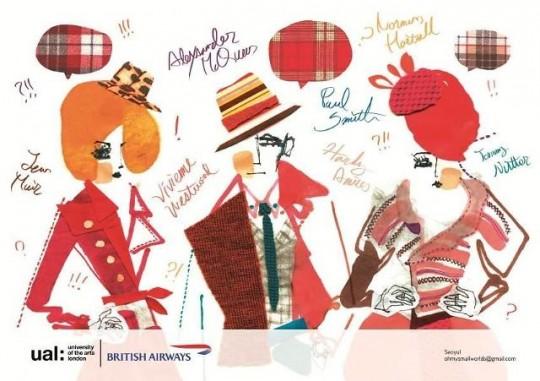 September by Yul Seo (Fashion Illustrator/ Graphic Designer), CSM, MA Graphic Design