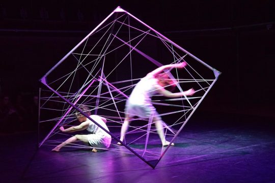 Wimbledon College of Arts, UAL Design for Dance Project by BA Theatre Design student Verity Johnson. Pic: Lucy Algar