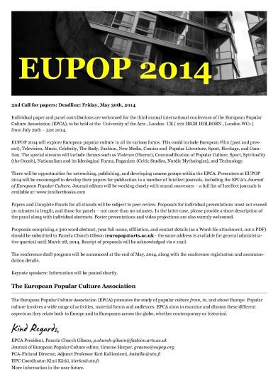 eupop 14