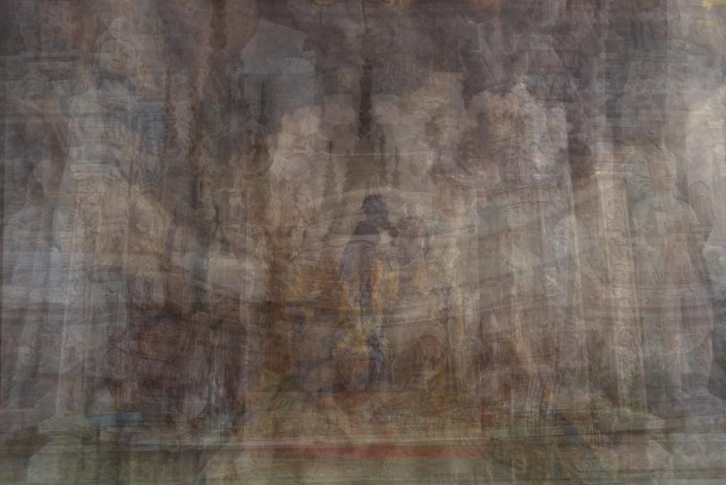 Daniela Solari - Painting Postcards exhibition piece
