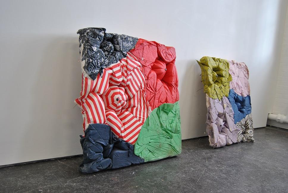Image of cast umbrellla works by Sophie Giller