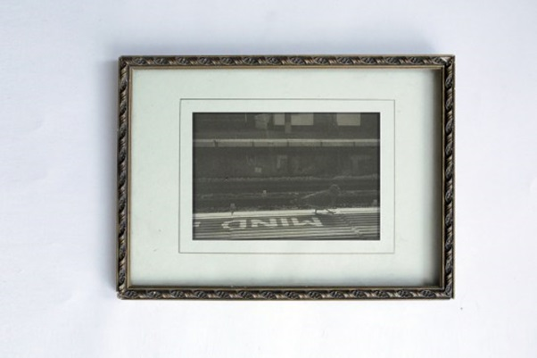 Work by Ruby (MA Fine Art Digital student) - Found frames and digital imagery