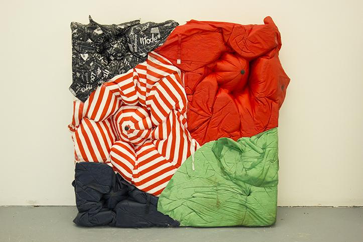 Sophie Giller, Umbrella Relief No. 5, 2014.