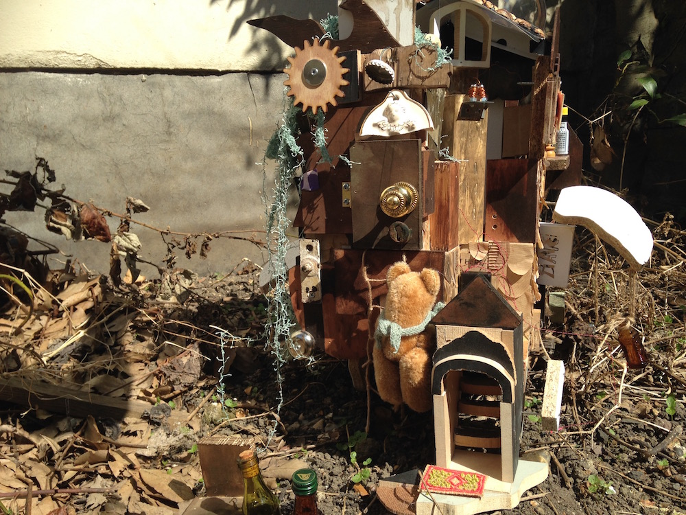 Teddy's Scrap House - Stop Motion Animation - Yui Takano