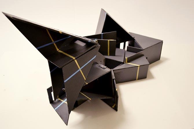 Dolls' house design by Bianca Soberano, BA Interior & Spatial Design