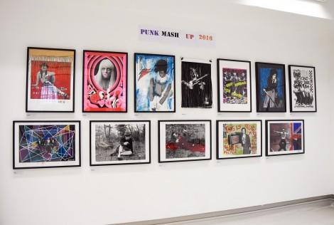 'Punk Rock Hip Hop Mash-Up' exhibition at the Punctum Space
